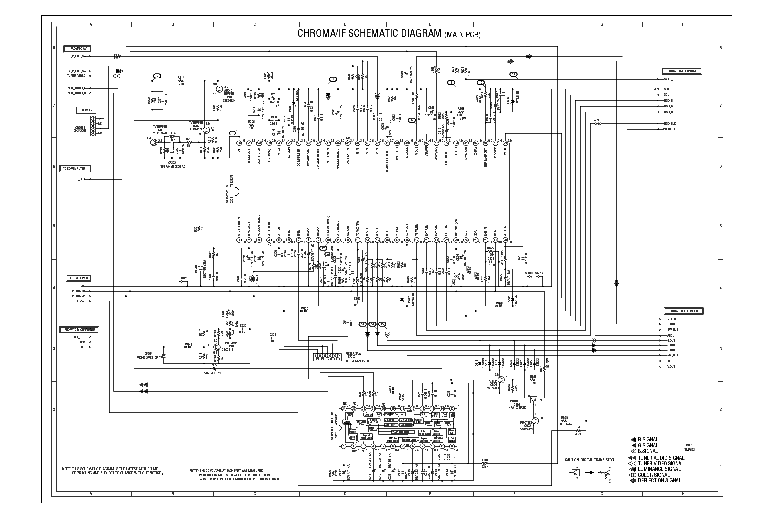 TOSHIBA 24AF42 SCH Service Manual download, schematics