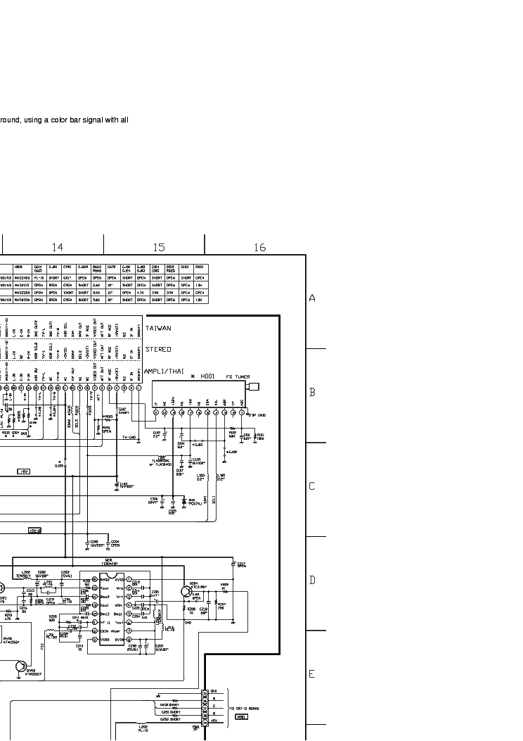 TOSHIBA 29A3E Service Manual download, schematics, eeprom