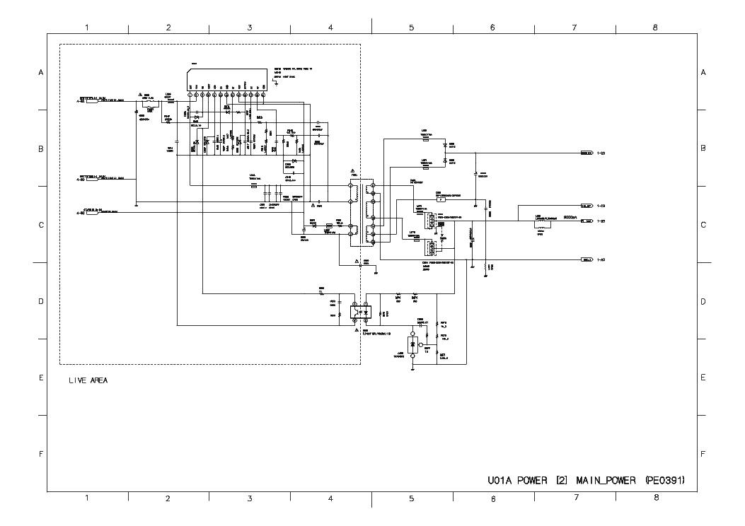 TOSHIBA 32C3500P SCH Service Manual download, schematics