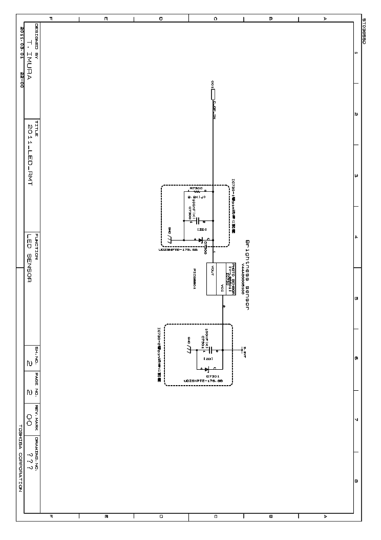 TOSHIBA 32SL833 SCHEMATIC Service Manual download