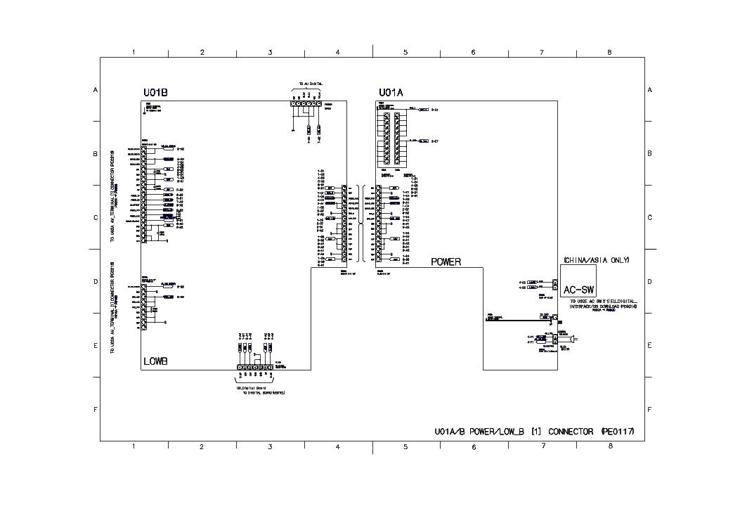 TOSHIBA 32WL65RS Service Manual download, schematics