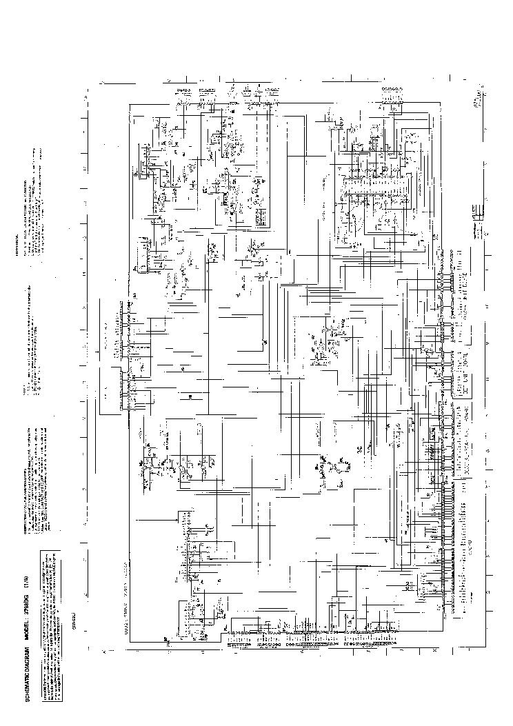 TOSHIBA 3798DG TV D Service Manual download, schematics