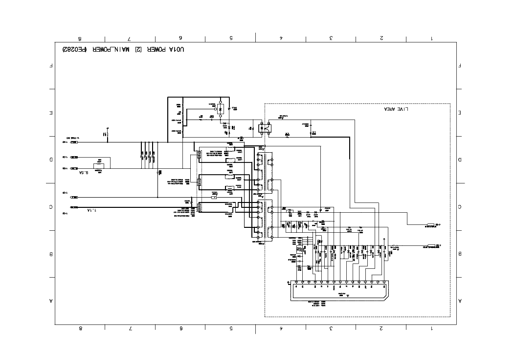 TOSHIBA 42X3030D SCH Service Manual download, schematics