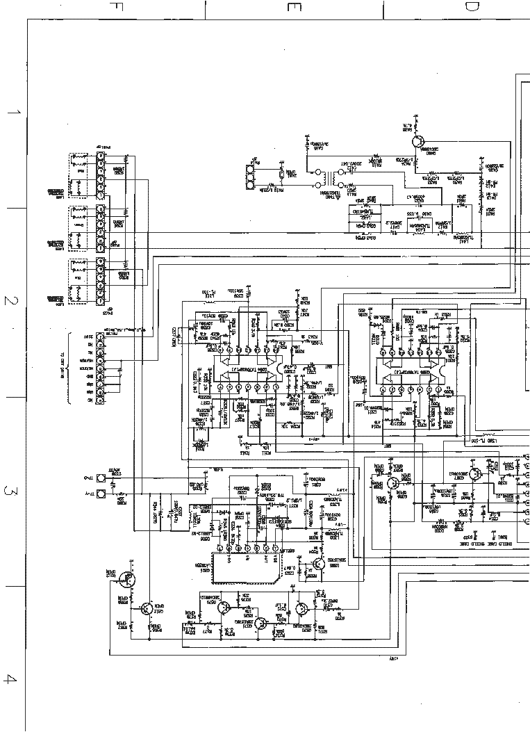 TOSHIBA 43VJ13P SCH Service Manual download, schematics