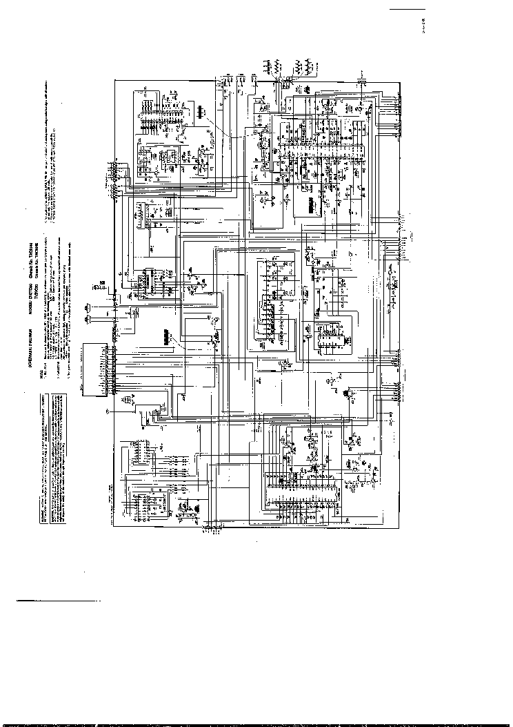 TOSHIBA CN27C90 TV D Service Manual download, schematics