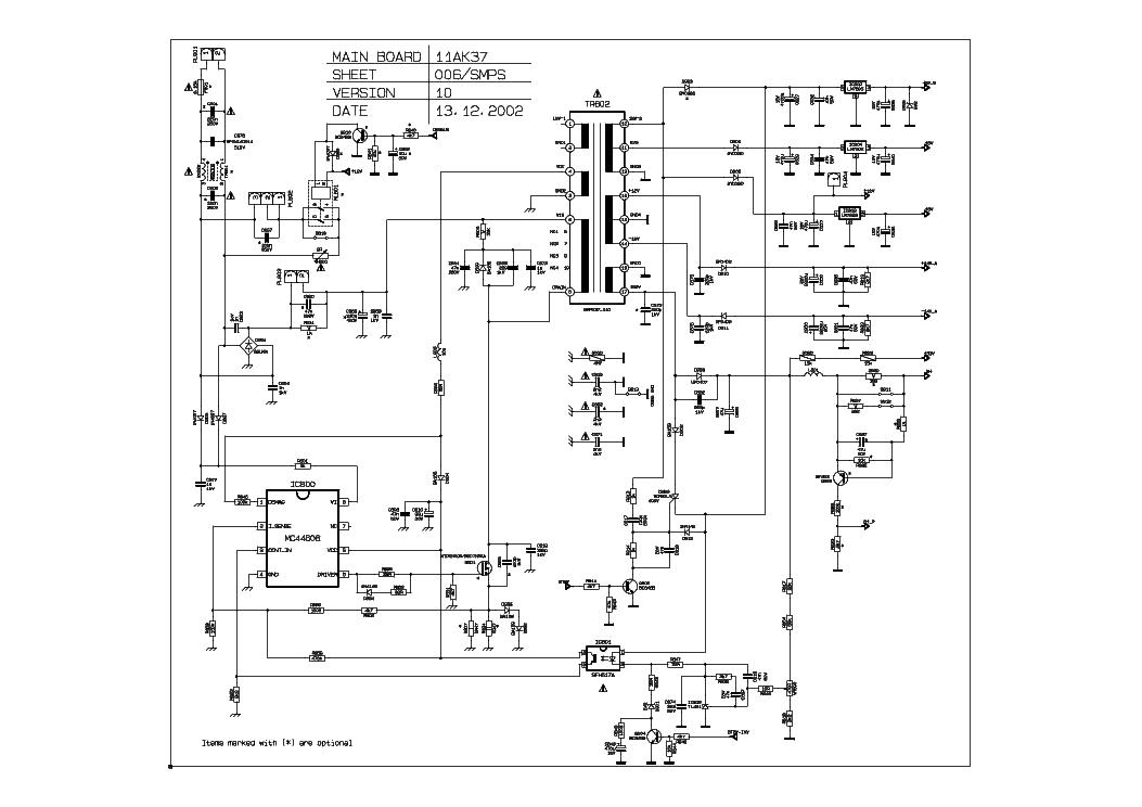 VESTEL 11AK37-10 SCH Service Manual download, schematics