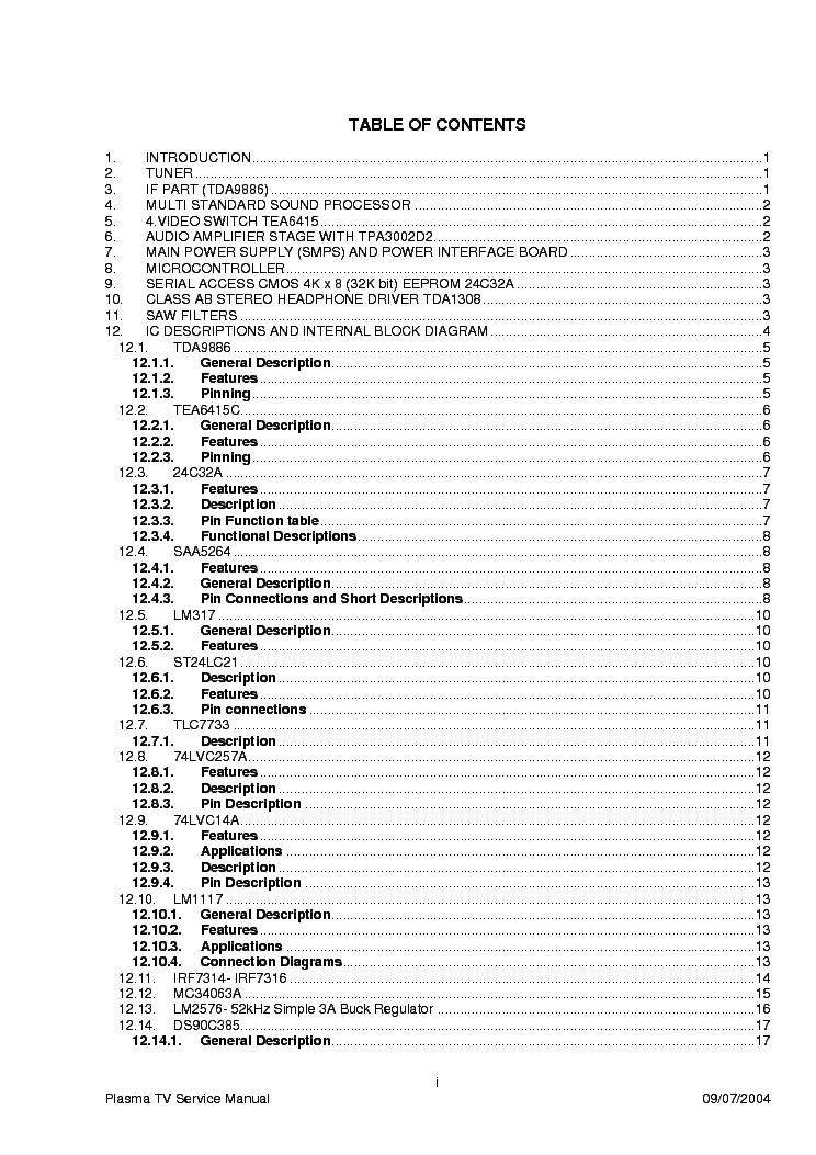 VESTEL TFT 30 SERVICE MANUAL Service Manual download