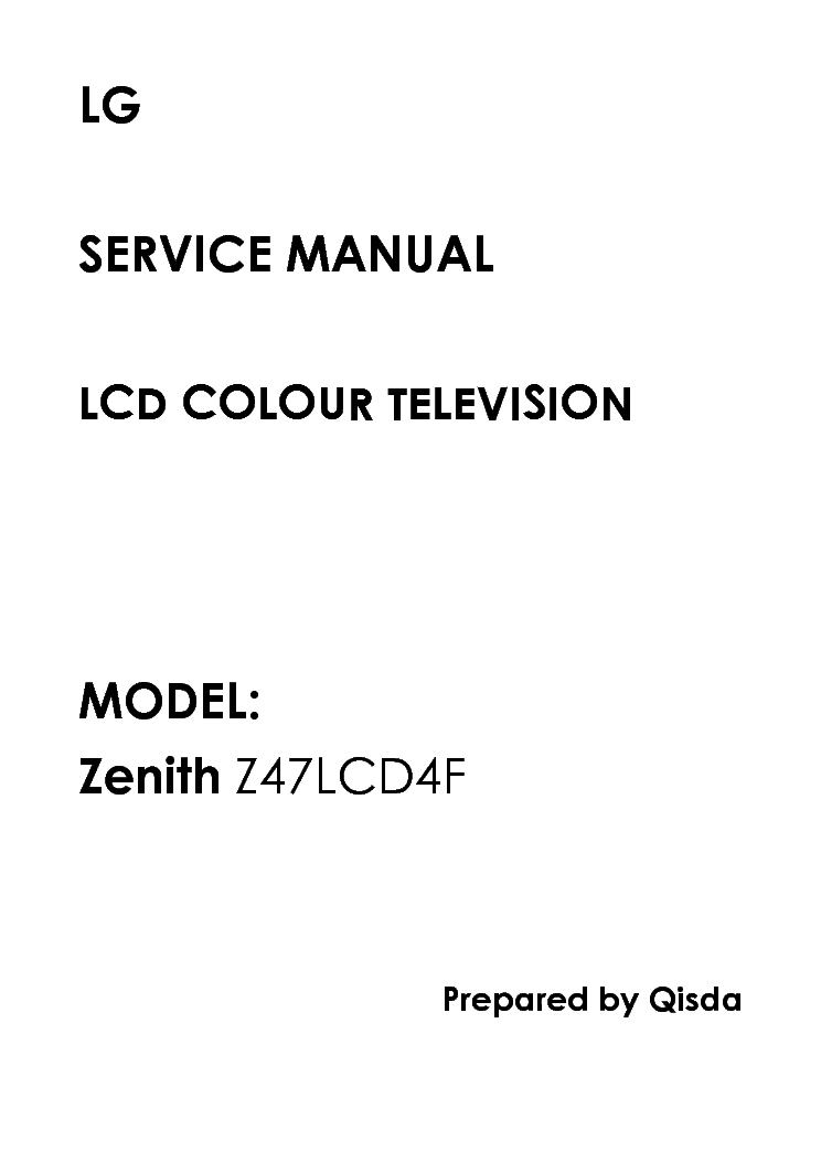 ZENITH B27A24Z Service Manual free download, schematics