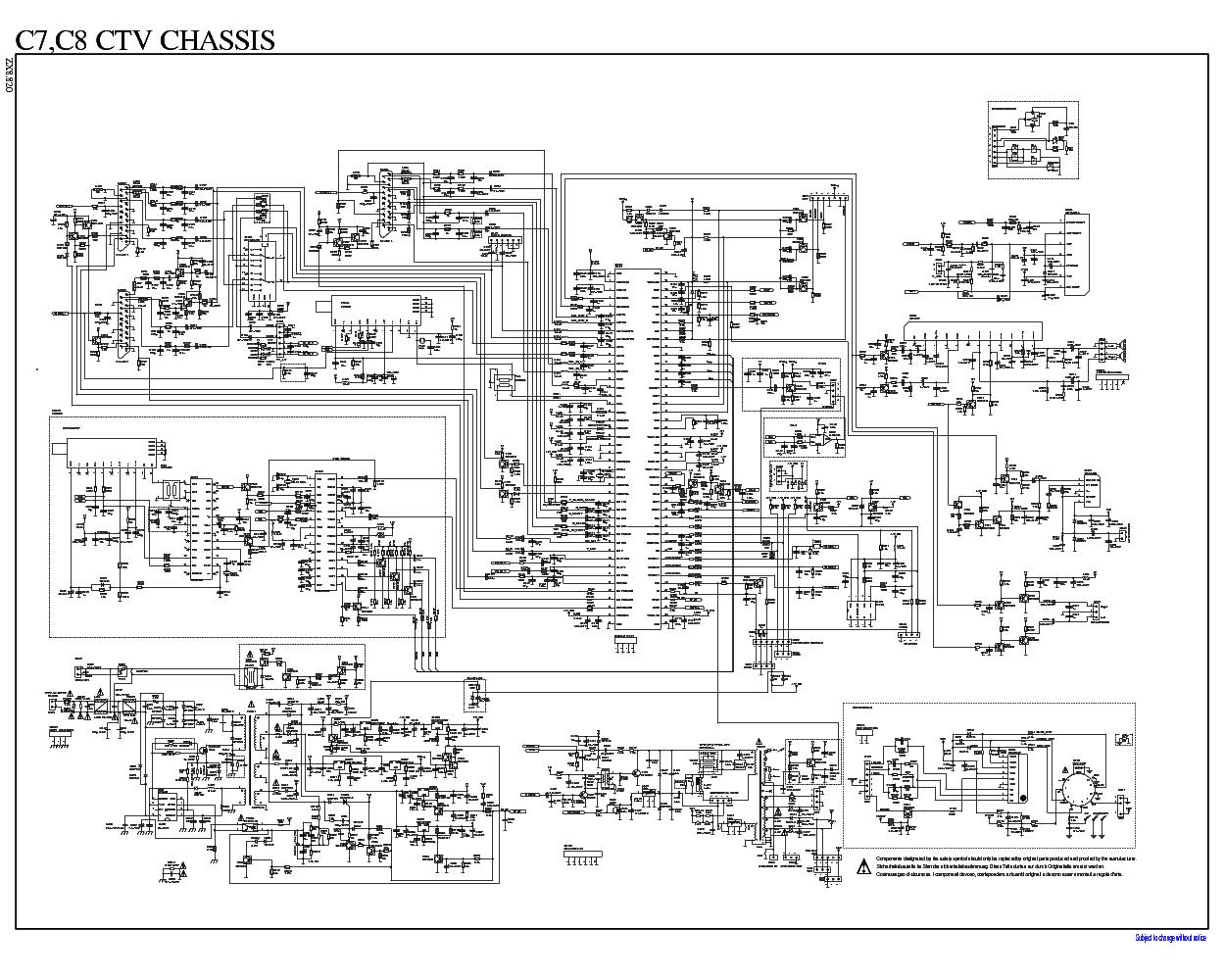BEKO C7,C8 ZX8.820,293 Service Manual download, schematics