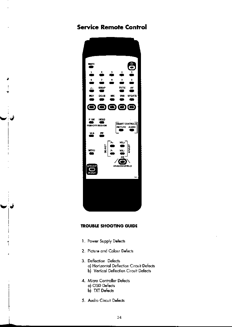 BEKO SERVICE REMOTE CONTROL Service Manual download