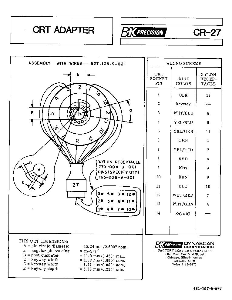 BK-PRECISION 2830 3,5-DIGIT MULTIMETER 1988 SM Service