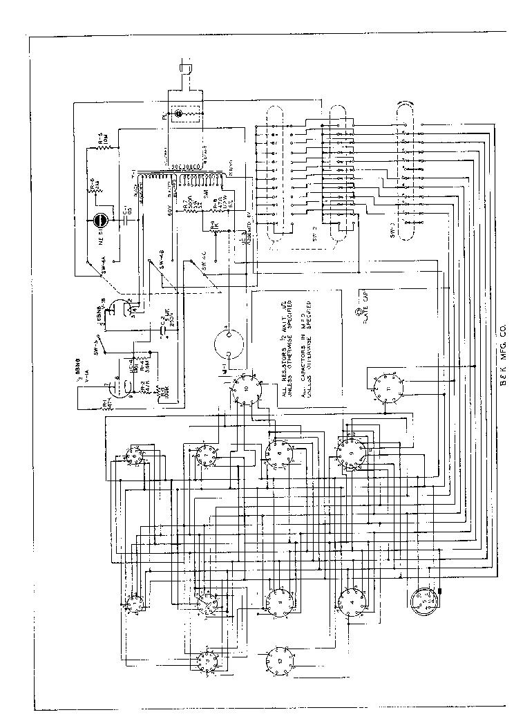 BK 666 PARTS SCH Service Manual download, schematics