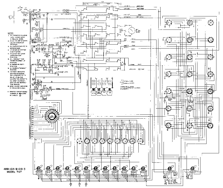 BK 747 DYNA-JET TUBE TESTER SCH Service Manual download