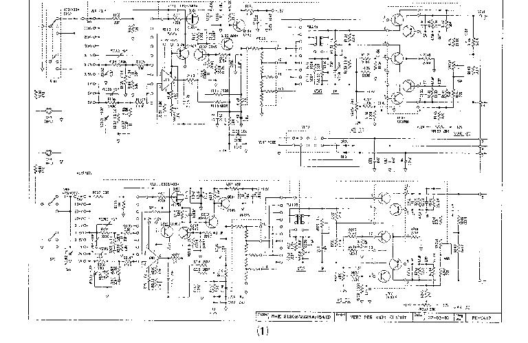 BK PRECISION 2120B SCH Service Manual download, schematics
