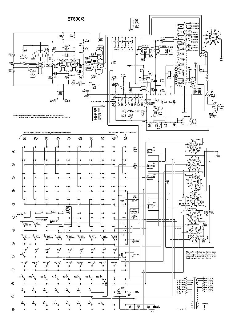MULLARD 7600 7600-3 7600-4 CTA20 VALVE TESTER 1958 SCH