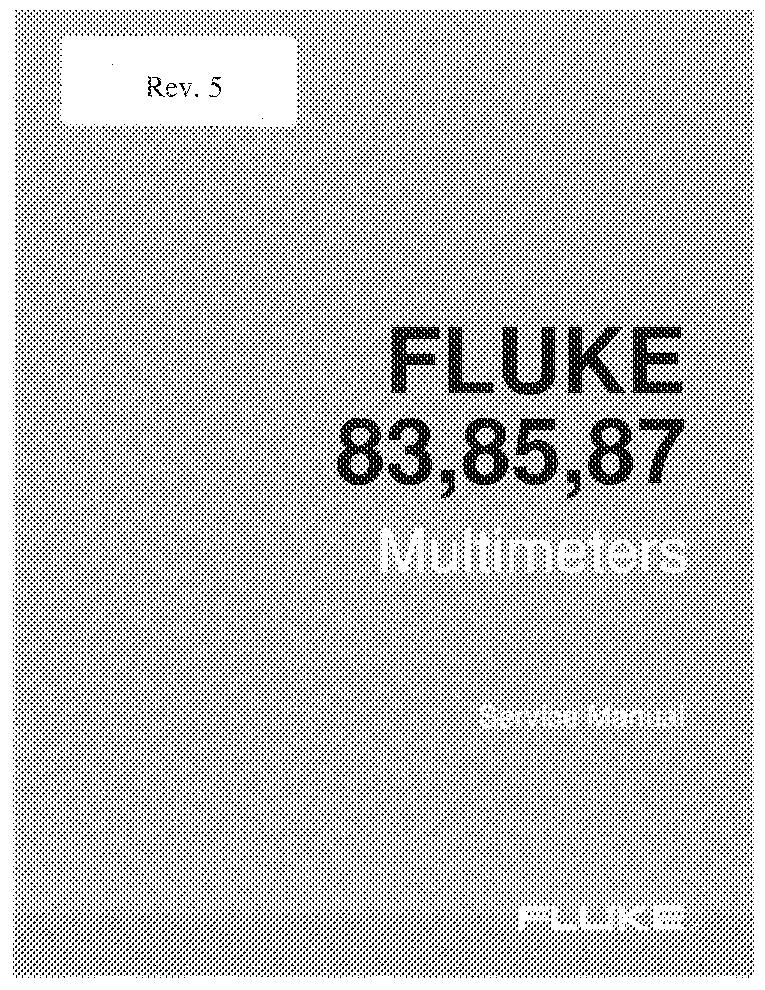 FLUKE 83 85 87 SERVICE MANUAL Service Manual download