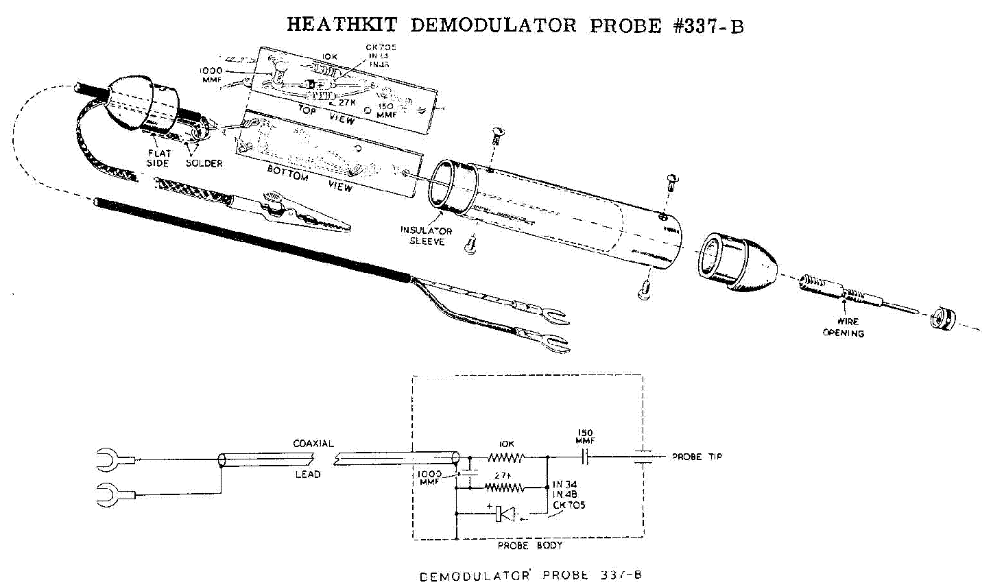 HEATHKIT IO-18 OSCILLOSCOPE SCH. Service Manual download