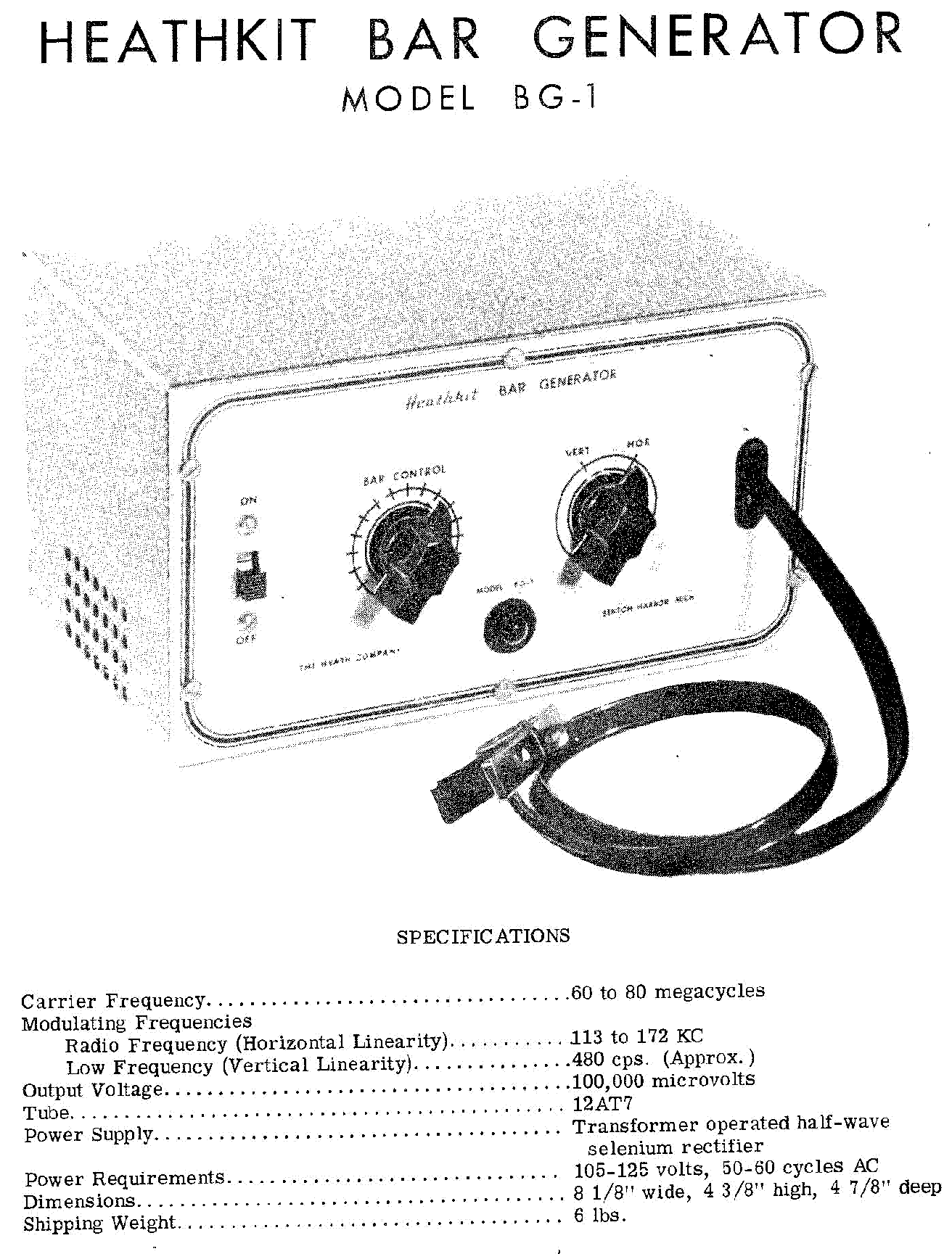 HEATHKIT HP-23A SM Service Manual free download