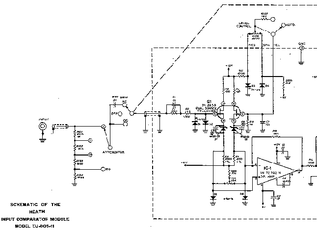 HEATHKIT T-3 VISUAL-AURAL SIGNAL TRACER SCH Service Manual