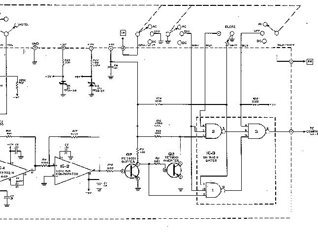 HEATHKIT EU-805-11 INPUT COMPARATOR MODULE SCH Service