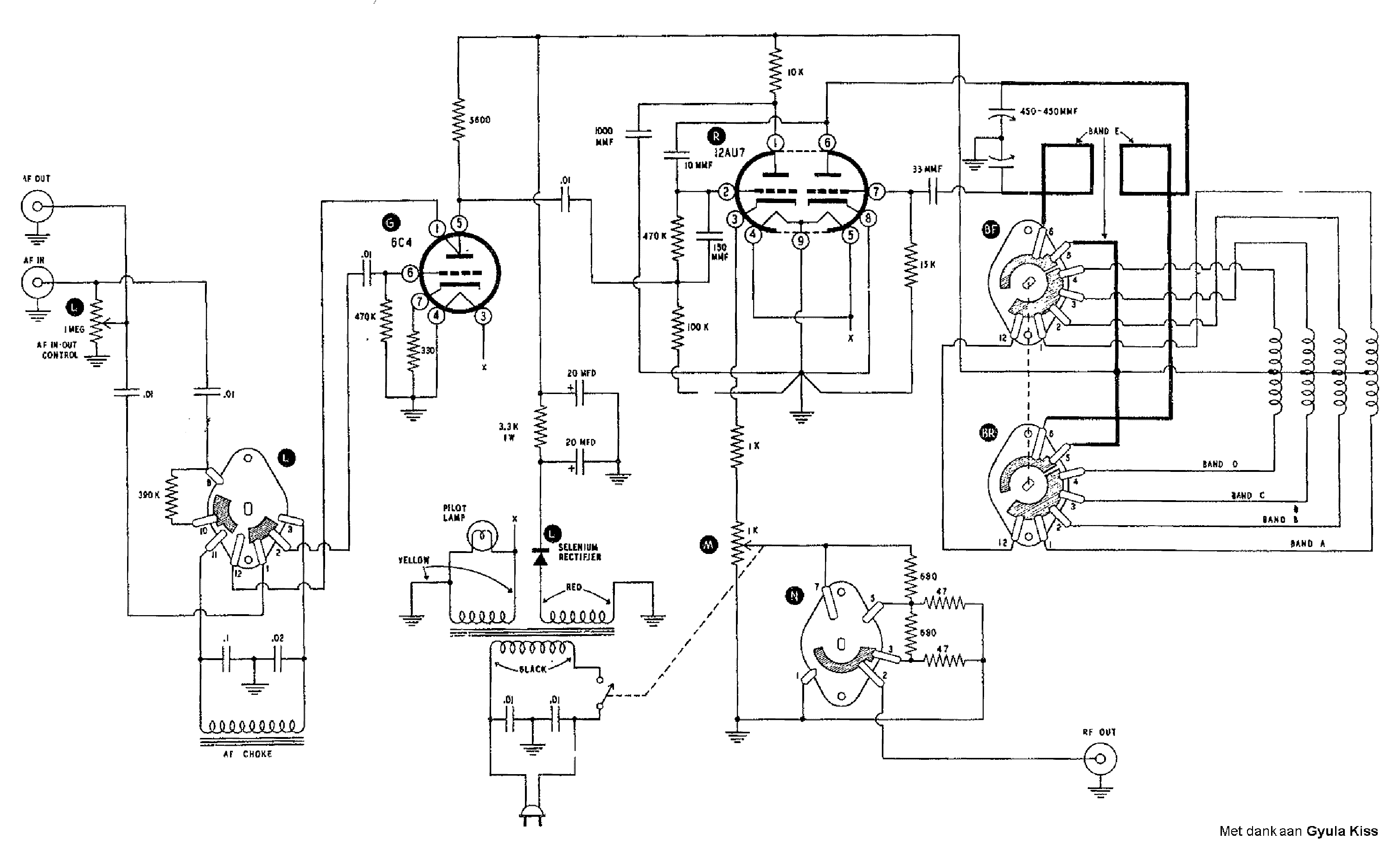 Rf Generator Electrical Schematics Audio Amplifier