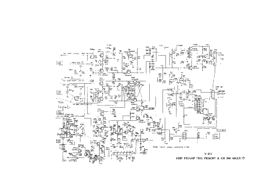 HITACHI V-212 SCH Service Manual download, schematics