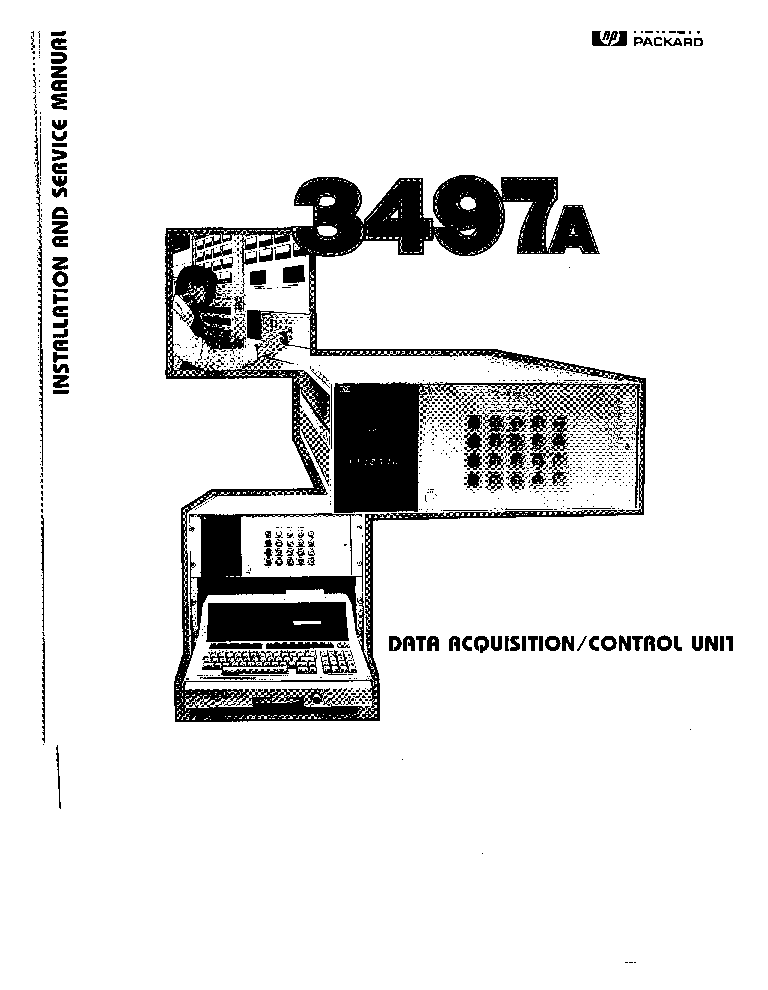 HP 3497A SM Service Manual download, schematics, eeprom