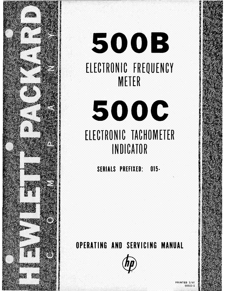 HP 500B C Service Manual download, schematics, eeprom