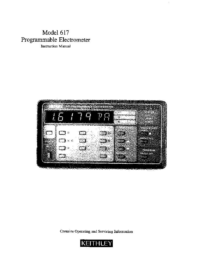 KEITHLEY 617 MANUAL PDF