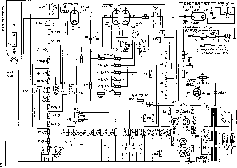 EMG 1345 MULTIMETER Service Manual download, schematics