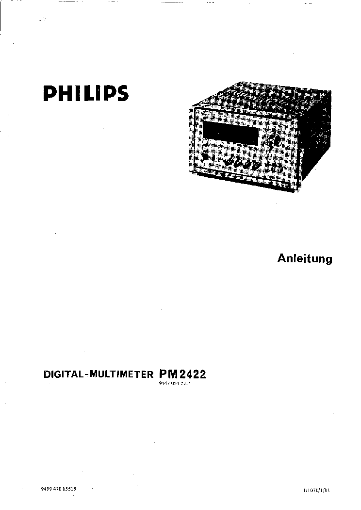PHILIPS PE 4832 1532 0..140V,130..270V,260..400V,390..500V