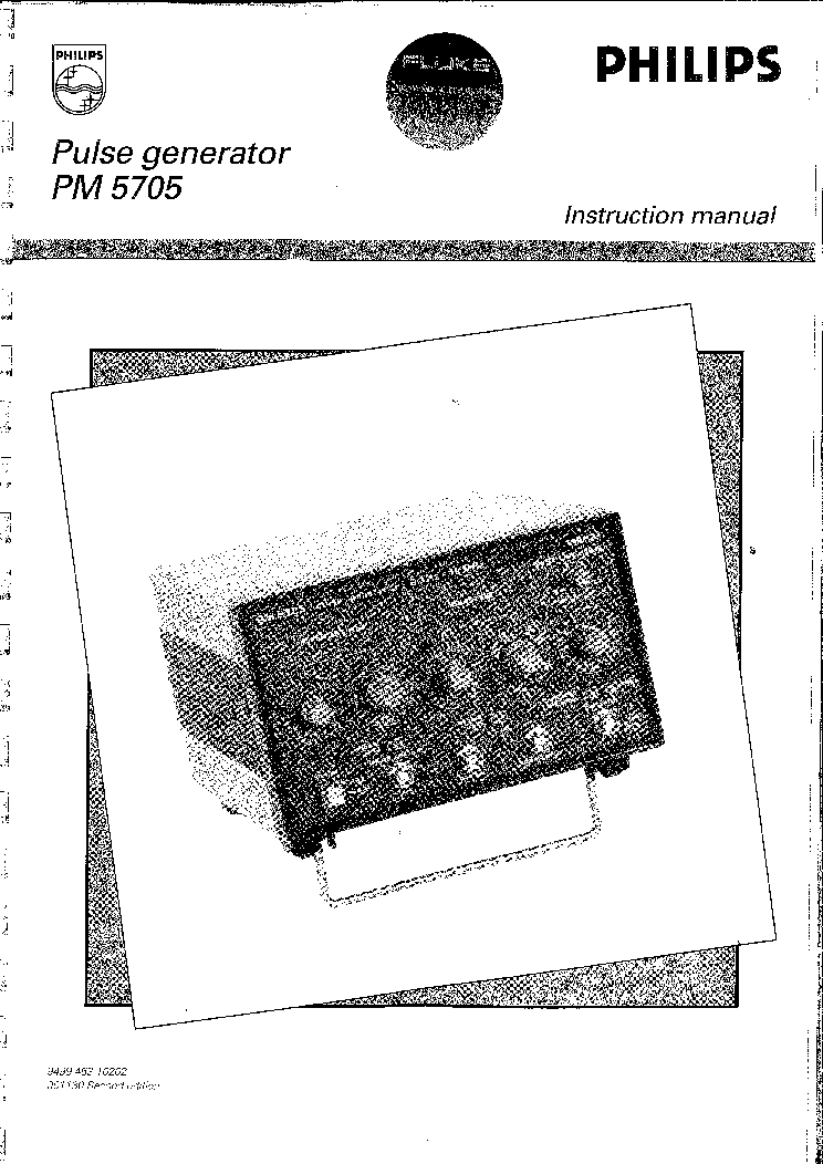 PHILIPS PM3230 MANUAL Service Manual download, schematics