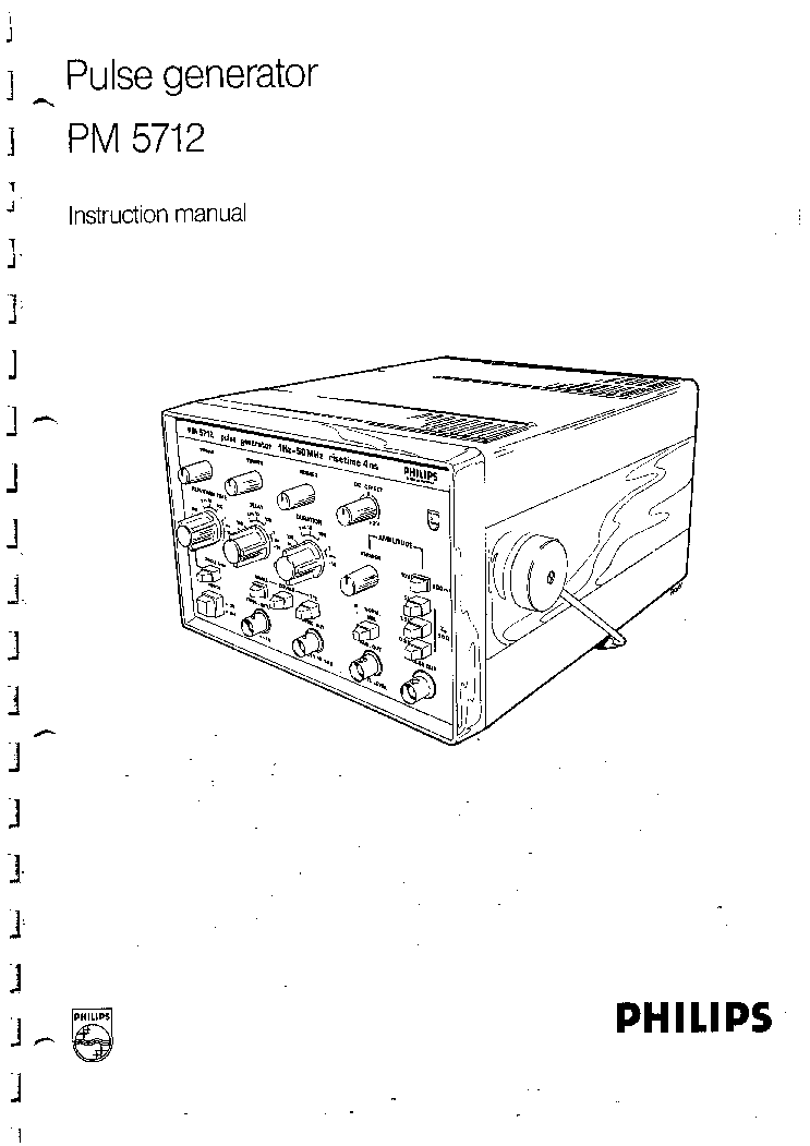 PHILIPS PM3240 SM Service Manual free download, schematics