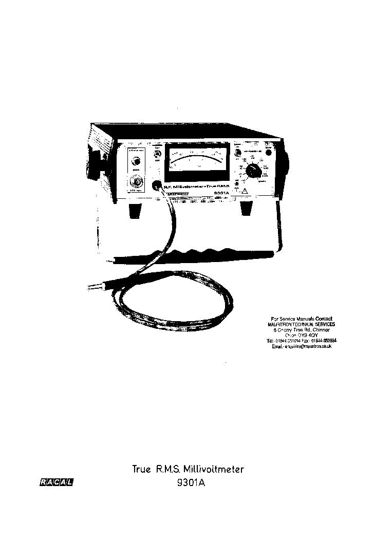 RACAL-DANA-1991-1992-NANOSECOND UNIVERSAL COUNTER SM