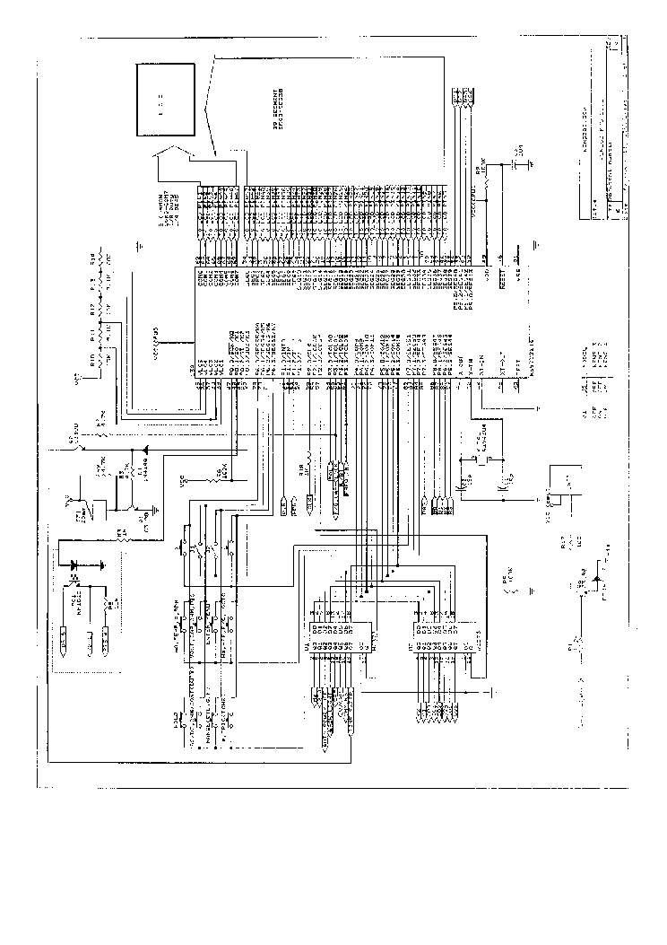 VOLTCRAFT DMM VC920 960 SCH Service Manual download