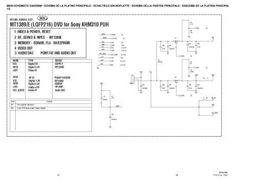 small resolution of aiwa cdc r307 cdc rv407 service manual 1st page