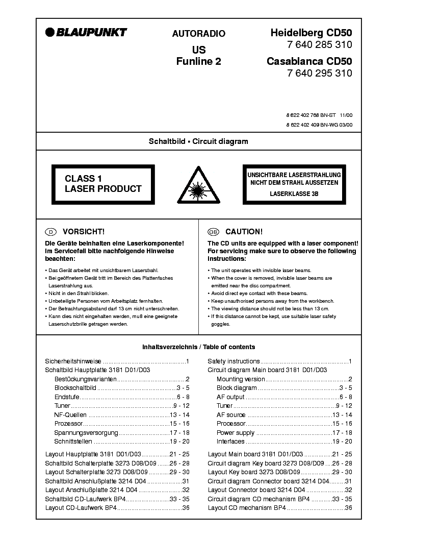 blaupunkt 2020 wiring diagram 1999 f250 fuse panel cc service manual download schematics eeprom heidelberg casablanca cd50