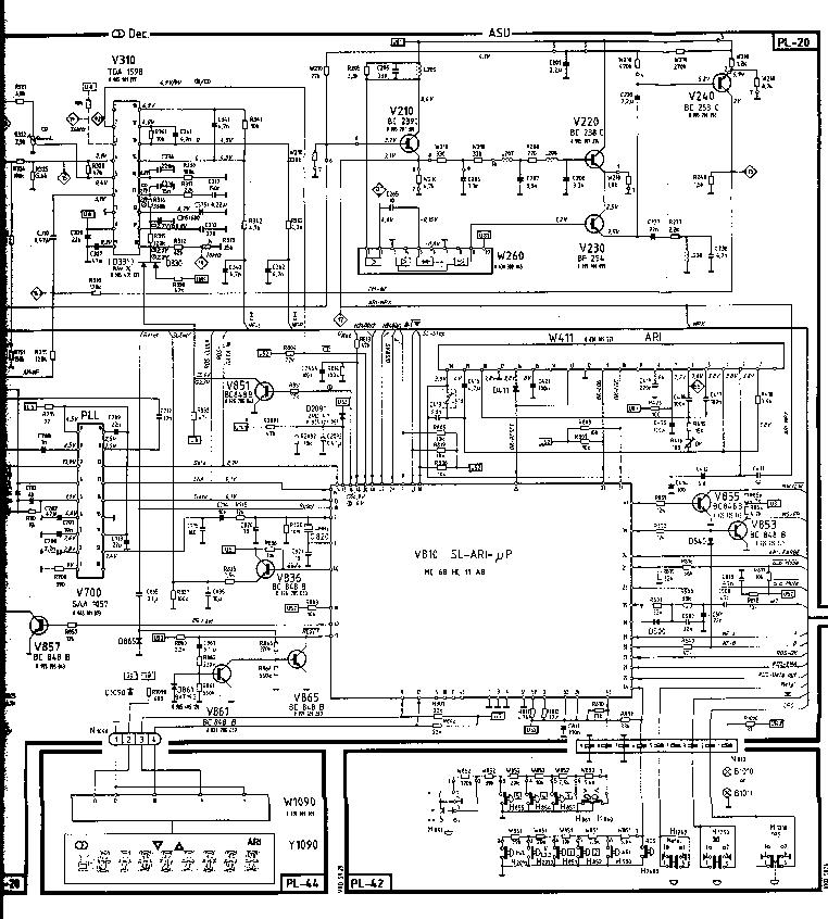 BLAUPUNKT NISAN MONTREUX RDR-49 SCH Service Manual
