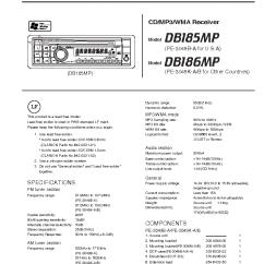 Wiring Diagram For Clarion Car Stereo 2003 Ford Focus Svt Radio Db165 Great Installation Of Db155 Simple Schema Rh 12 51 Aspire Atlantis De