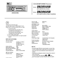 Clarion Cd Player Wiring Diagram Honda 300ex Db285usb Schematic 286usb Service Manual Download Schematics Eeprom Yamaha