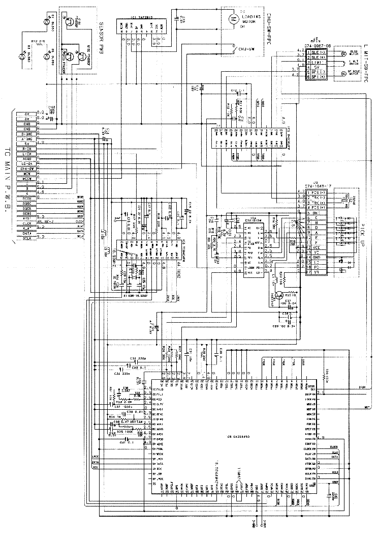 CLARION DRB-3275V,E Service Manual download, schematics