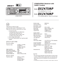 Clarion Cz100 Wiring Diagram New Beetle Fuse Box Xdz Great Installation Of Db325 Stereo Code For Car Bose Vz401