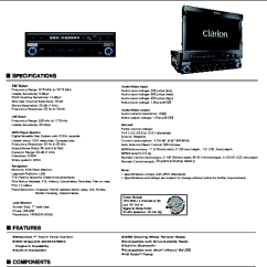 2007 Nissan X Trail Stereo Wiring Diagram Pioneer Deh 1200mp 2 Clarion Cmd4 Radio Cmd4a Parts ~ Elsalvadorla