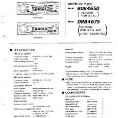 Wiring Diagram For Clarion Car Stereo Mitsubishi Canter Diagrams Radio Pn 2431d Great Installation Of Model Adb340mp 37