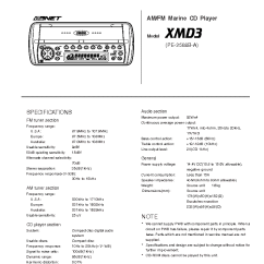 Clarion Xmd3 Wiring Diagram Whole House Electrical Cmd4 : 27 Images - Diagrams | Kreativmind.co