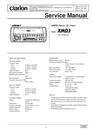 Clarion Xmd3 Wiring Diagram  Somurich