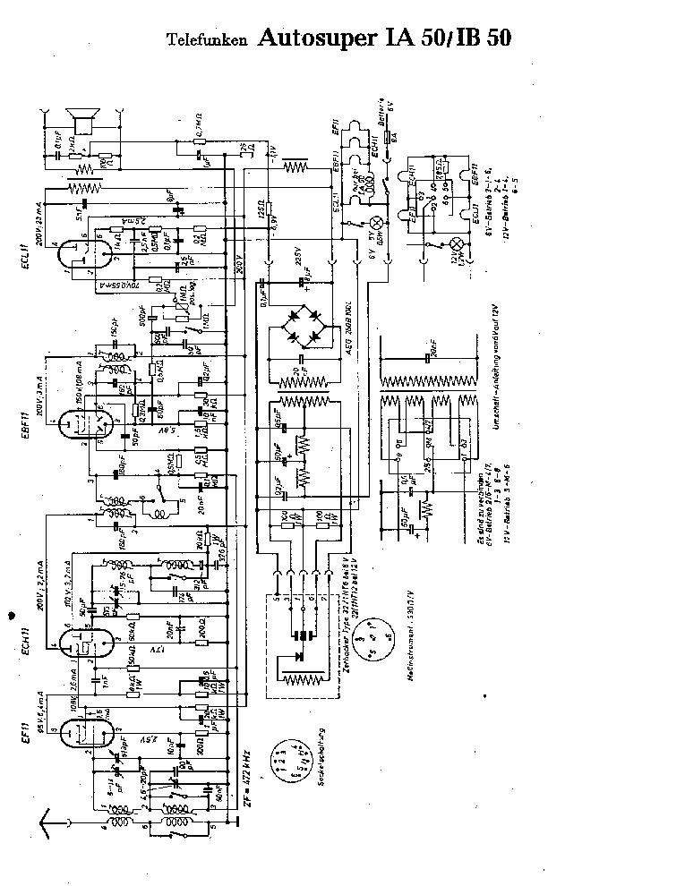 TELEFUNKEN AUTOSUPER IA-50 SCH Service Manual download