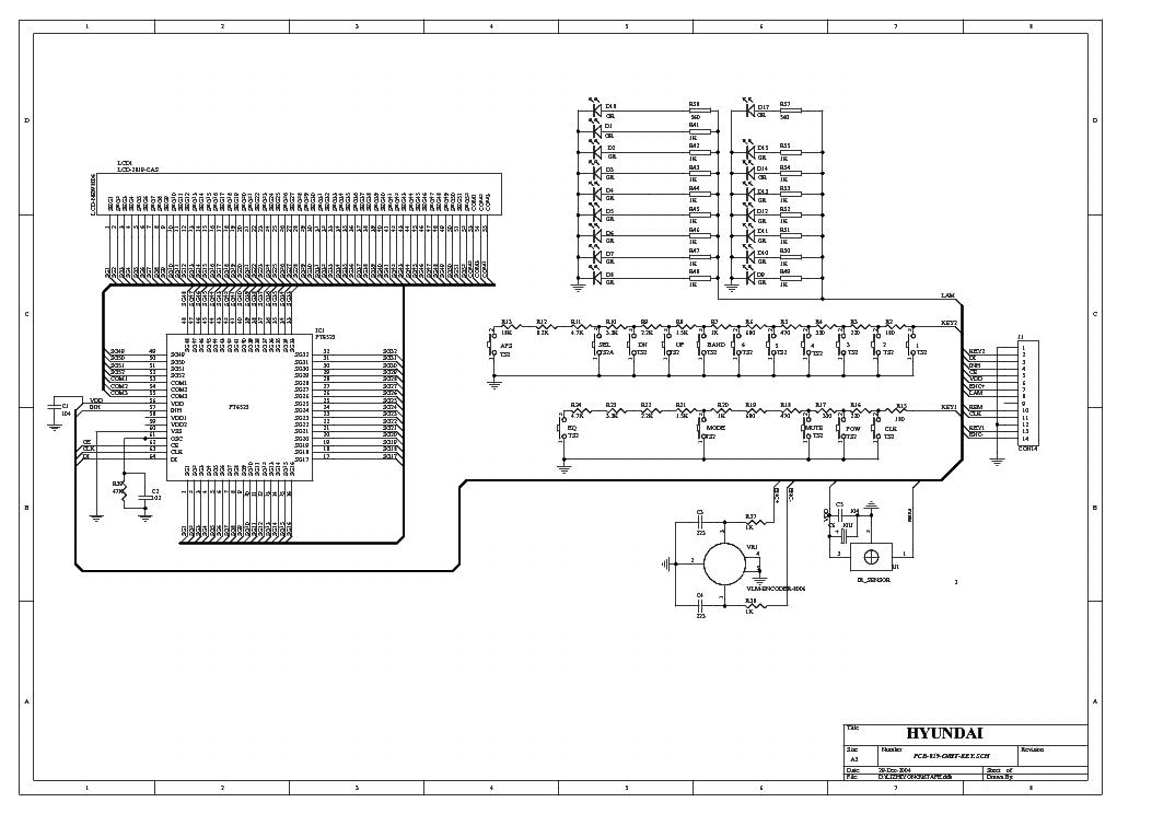 HYUNDAI H-CCR8080 Service Manual download, schematics