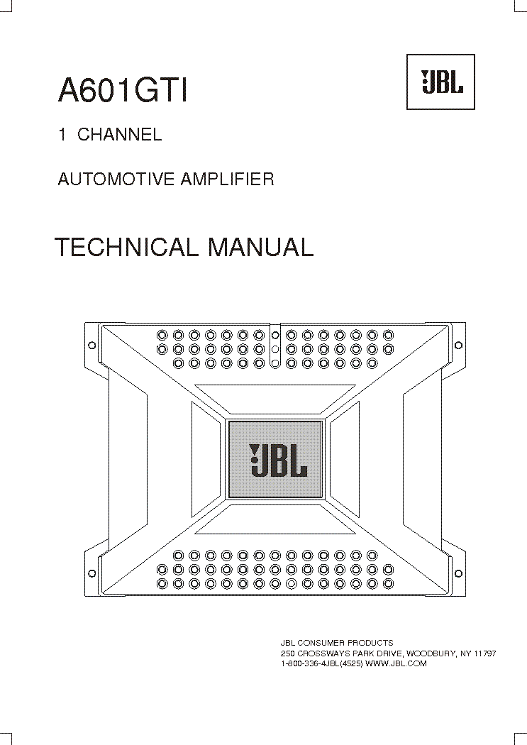JBL DA-1002 SCH Service Manual download, schematics