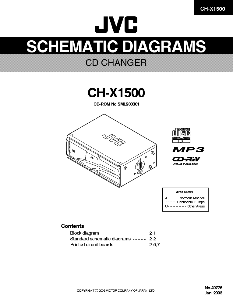 JVC KD-AR270 KD-G220 KD-G227 KD-G321 KD-G322 KD-G323 KD